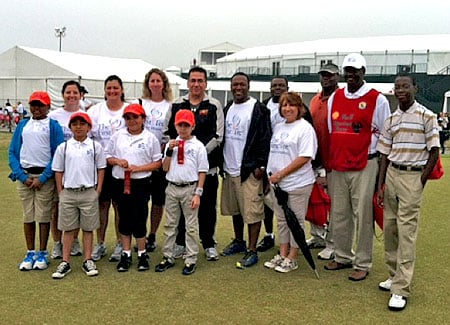 Redstone First Tee event