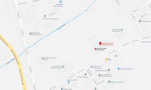 Nimitz HS Map