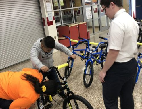 Aldine ISD Students Rewarded With Bikes For Literacy Achievements